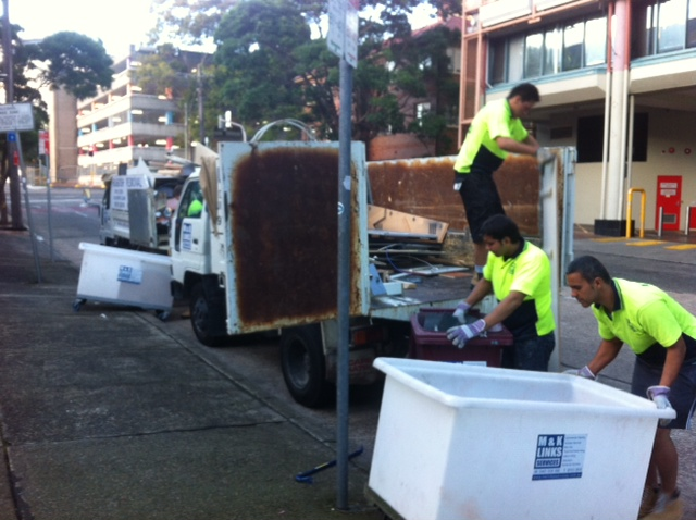 Rubbish Collection Woollahra